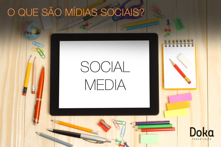 O que são mídias sociais?