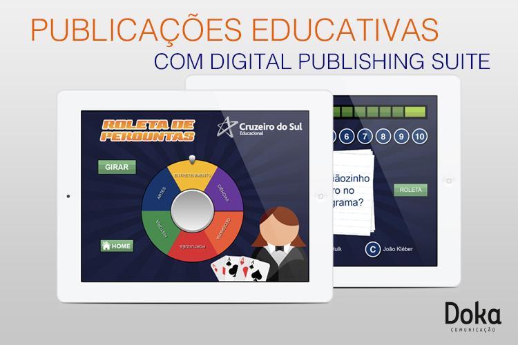 Publicações educativas com Digital Publishing Suite