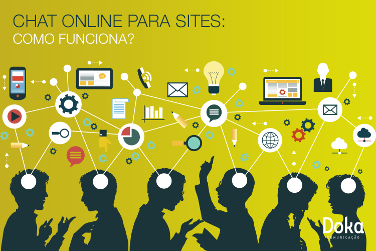 Chat online para sites: como funciona?