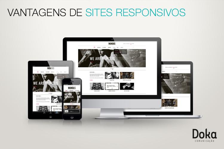 Vantagens de sites responsivos