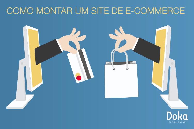 Como montar um site de e-commerce