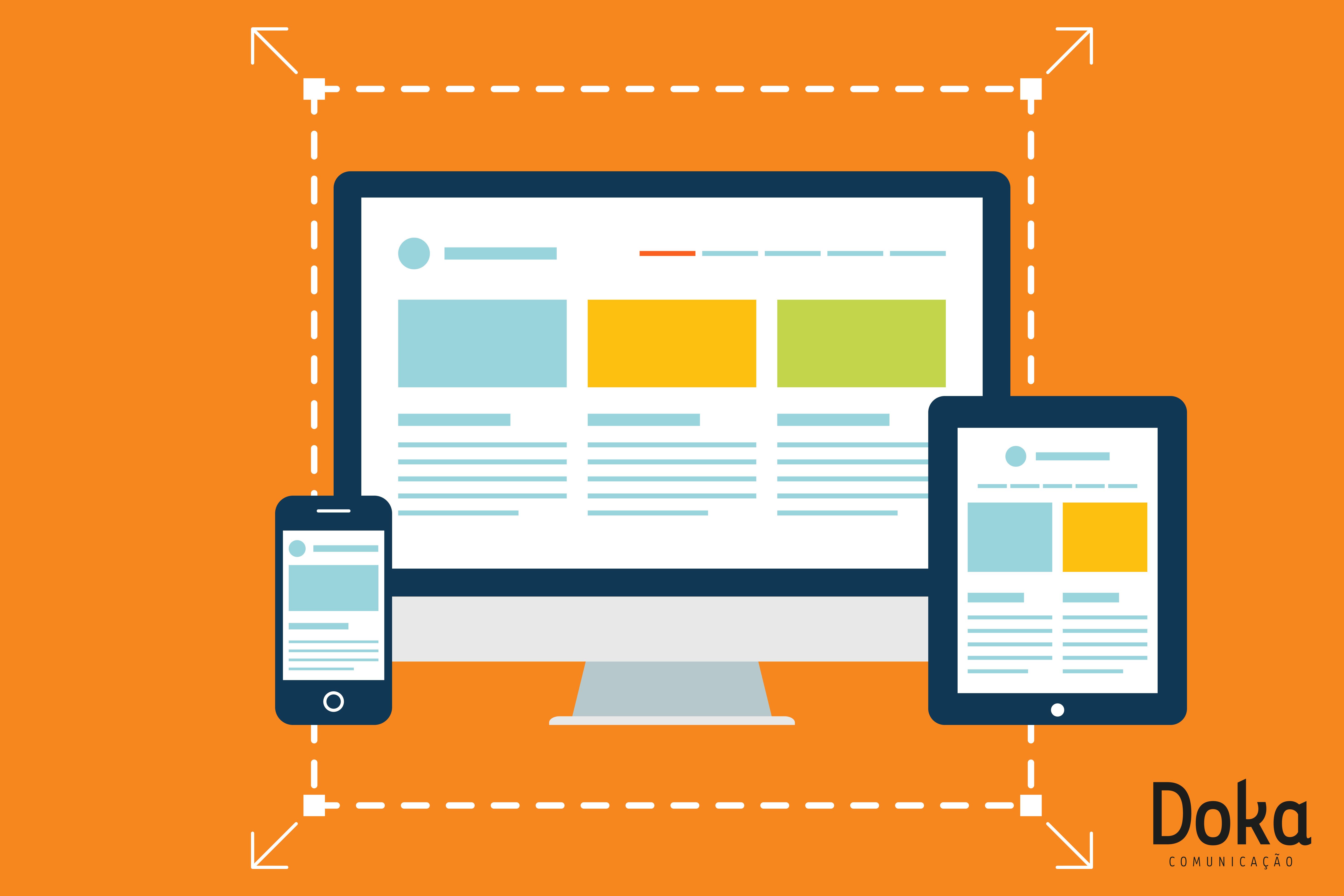 novos clientes com site mobile