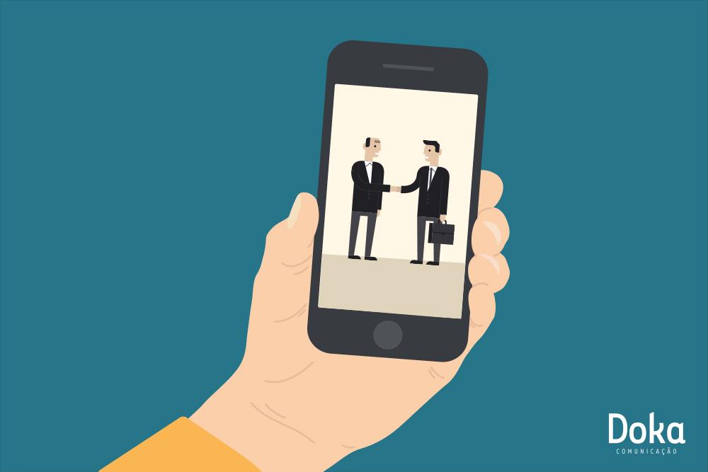 Relação digital não é impessoal