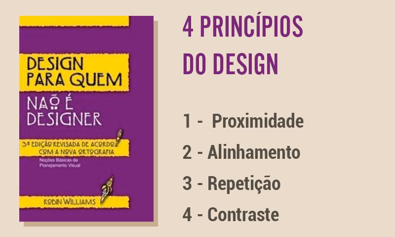 Diagramação de livros impressos, 4 principios de design