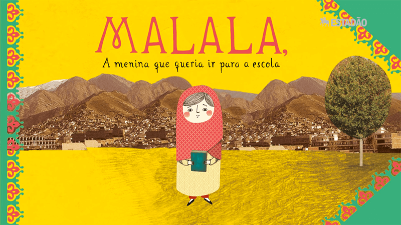 Diagramação de livros impressos, Malala livro