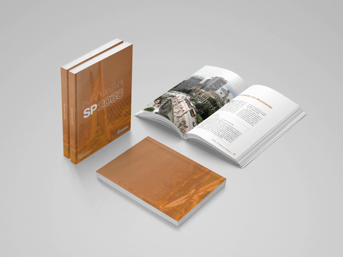 Diagramacao de livros criativos câmara municipal de são paulo 2030